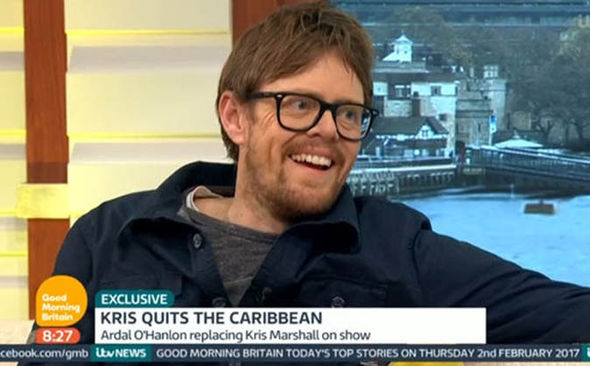 Kris Marshall on Good Morning Britain