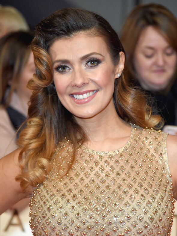 Coronation Street star Kym Marsh