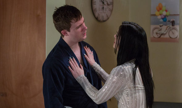 Lee and Whitney Carter's marriage appears to be over in EastEnders