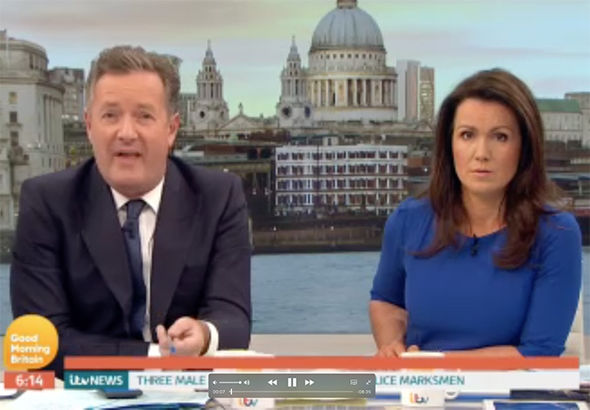 London terror attack Good Morning Britain crew member ITV