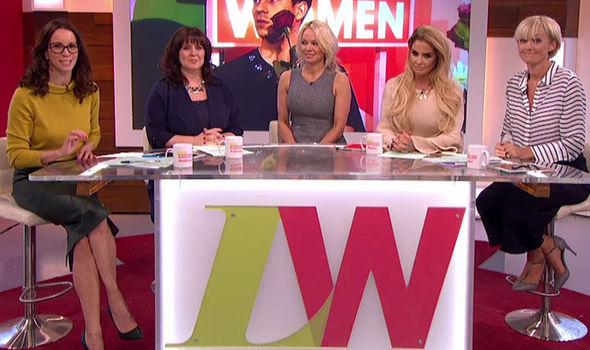 Pamela Anderson on Loose Women
