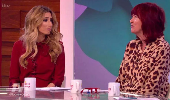 Stacey Solomon and Janet Street Porter