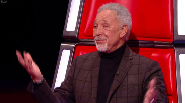 Lucy Kane The Voice Tom Jones awkward comment