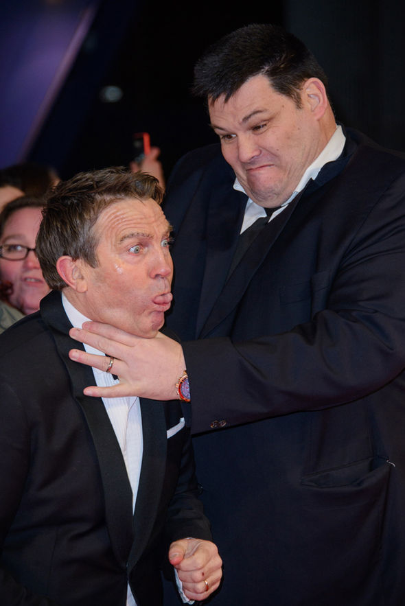 Mark Labbett Bradley Walsh