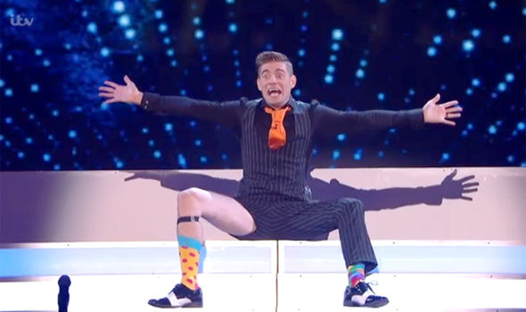 Matt Edwards was a big hit with the Britain's Got Talent judges