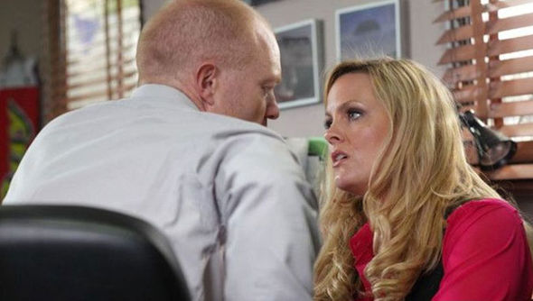 Max Branning and Tanya Branning on EastEnders