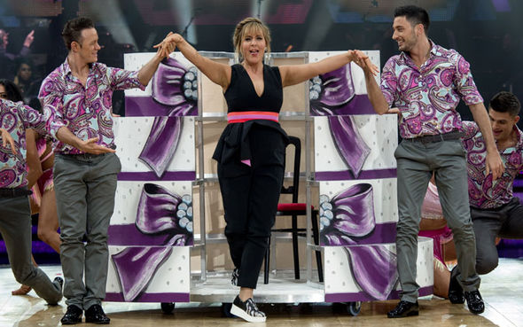 Mel Giedroyc Strictly Come Dancing