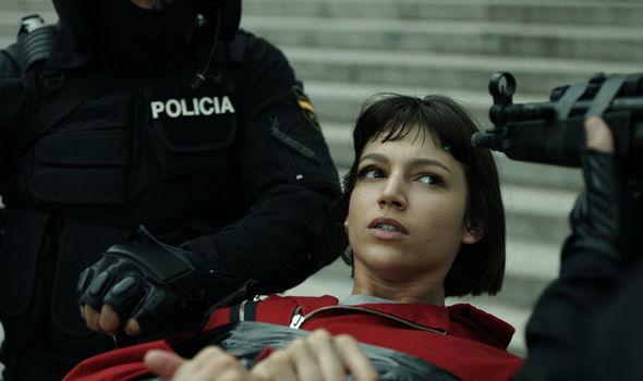 La Casa de Papel or Money Heist on Netflix has a huge cast