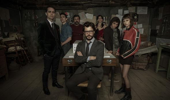La Casa De Papel Season 2 How To Watch Money Heist Online