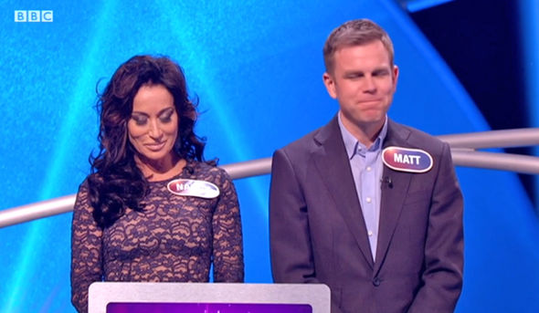 Nancy Dell'Olio and Matt Barbet on Pointless