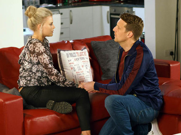 Nathan Curtis and Bethany Platt