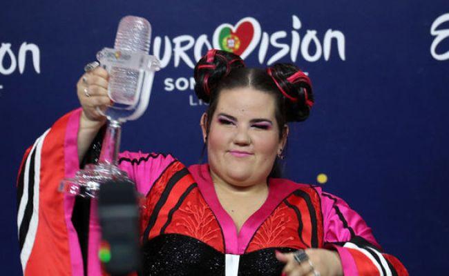 Eurovision 2018 Winner Israel Netta Barzilai Toy