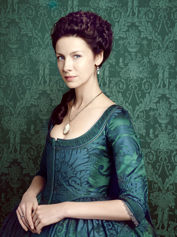Caitriona Balfe as Claire Fraser in Outlander