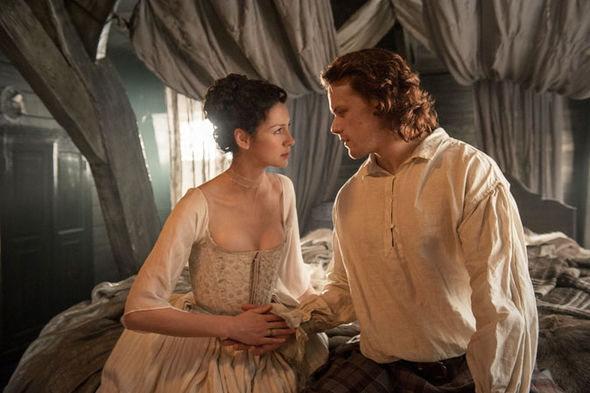 Jamie and Claire The Wedding