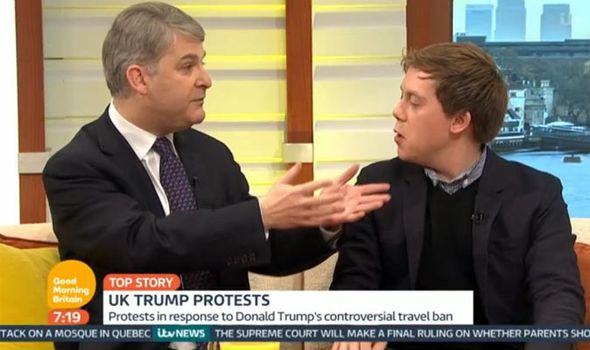 Owen Jones also clashed with MP Philip Davies on Good Morning Britain