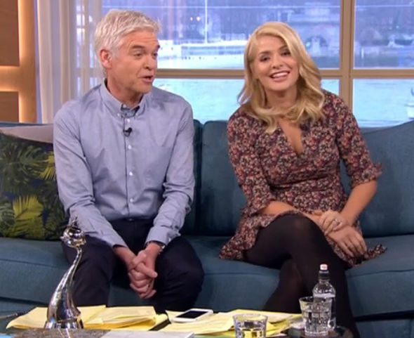 Phillip Schofield and Holly Willoughby after NTA's