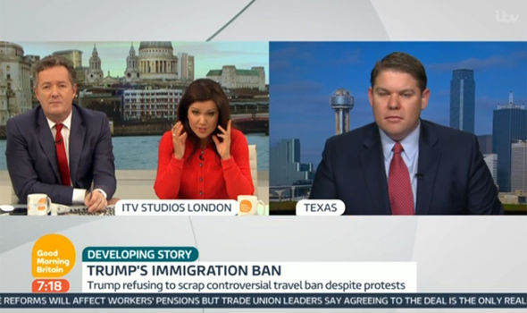 Piers Morgan clashes with Donald Trump supporter Ben Ferguson