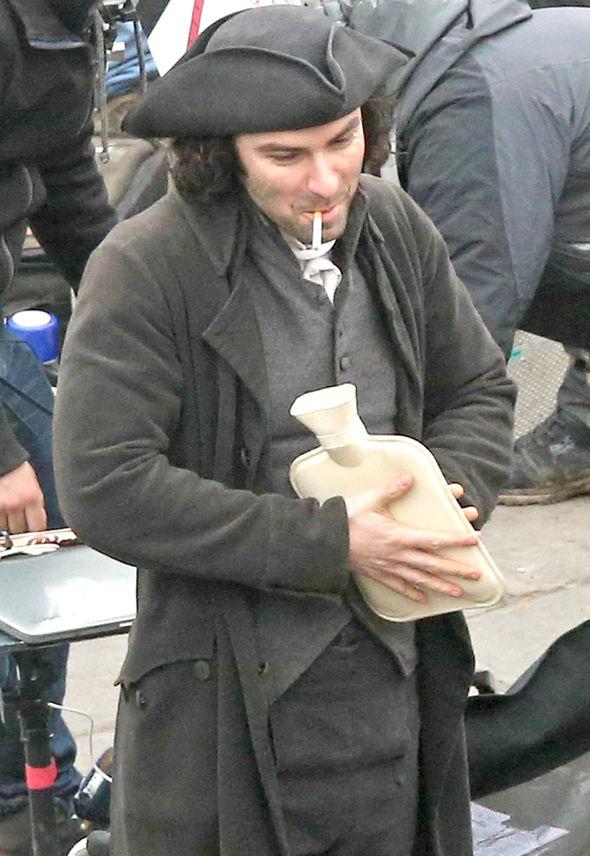 Poldark Season 3 Aidan Turner Eleanor Tomlinson cigarette hot water bottle