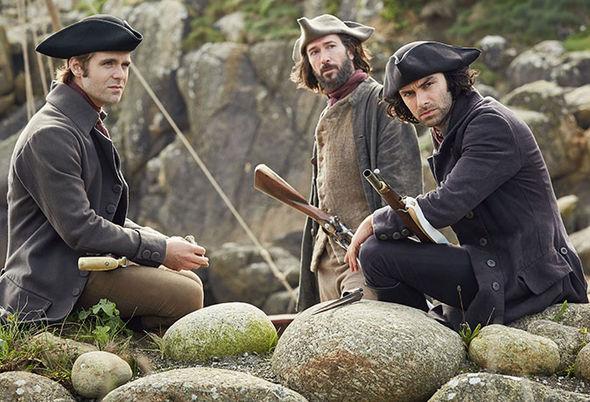 Poldark season 4 cast season 3 dead Captain Henshawe Winston Graham