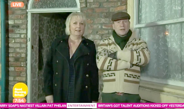 Richard Arnold and Coronation Street star Sue Cleaver on Good Morning Britain