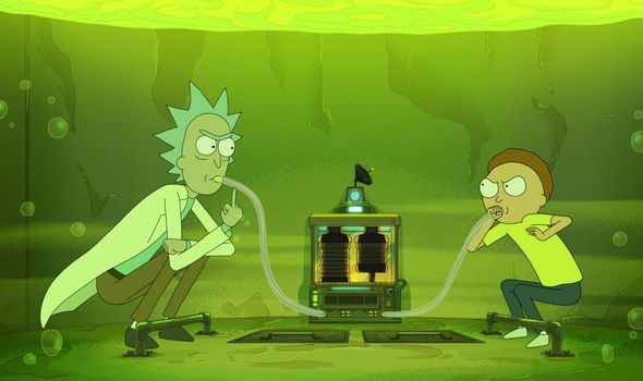 Rick And Morty When Will Rick And Morty Season 4 Be On Hulu Tv Radio Showbiz Tv Express Co Uk