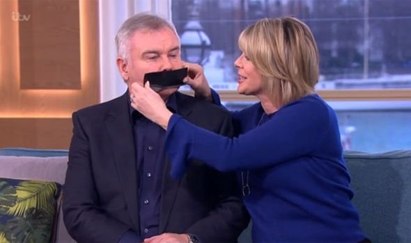 Ruth Langsford gags Eamonn Holmes on This Morning