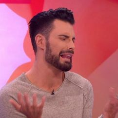 Black Side Chair Office Chairs Under 100 Rylan Clark-neal Squirms As Janet Street-porter Brings Up Pubic Hair   Tv & Radio Showbiz ...