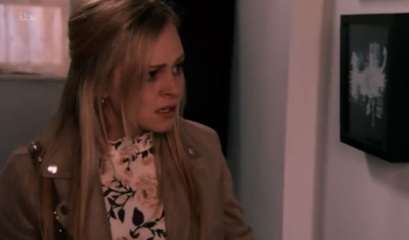 Sarah Platt crying