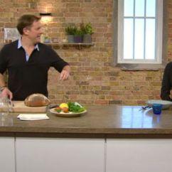 Kitchen Matt Pantry Shelving Systems Saturday Tebbutt S Gaffe Disrupts Programme Tv