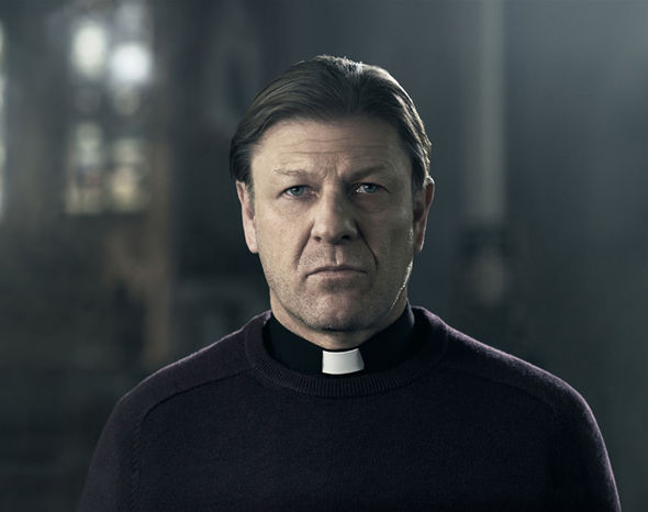 Sean's performance as Father Michael last night captured the double nature of the main character