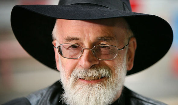 Sir Terry Pratchett was diagnosed in 2007