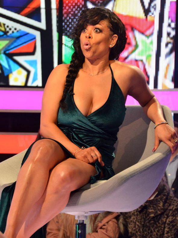 Stacy Francis sitting down