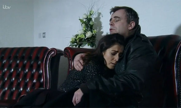 Steve and Michelle McDonald Coronation Street