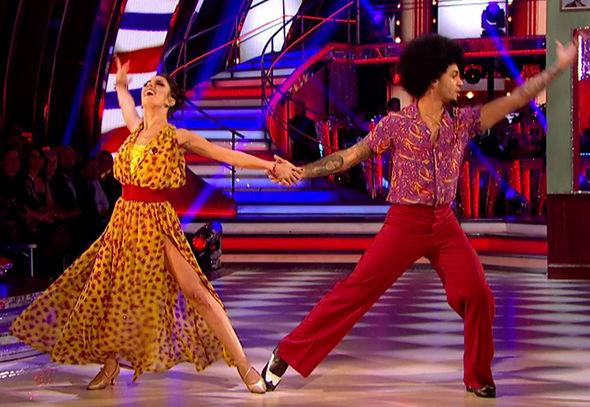 Strictly Come Dancing 2017 Alexandra Burke racism Victoria Derbyshire BBC Gorka