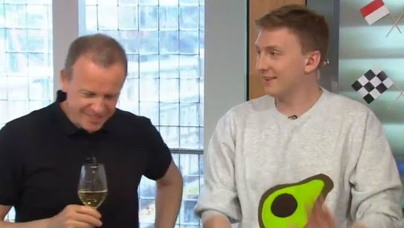 Sunday Brunch Tim Lovejoy Simon Rimmer Joe Lycett