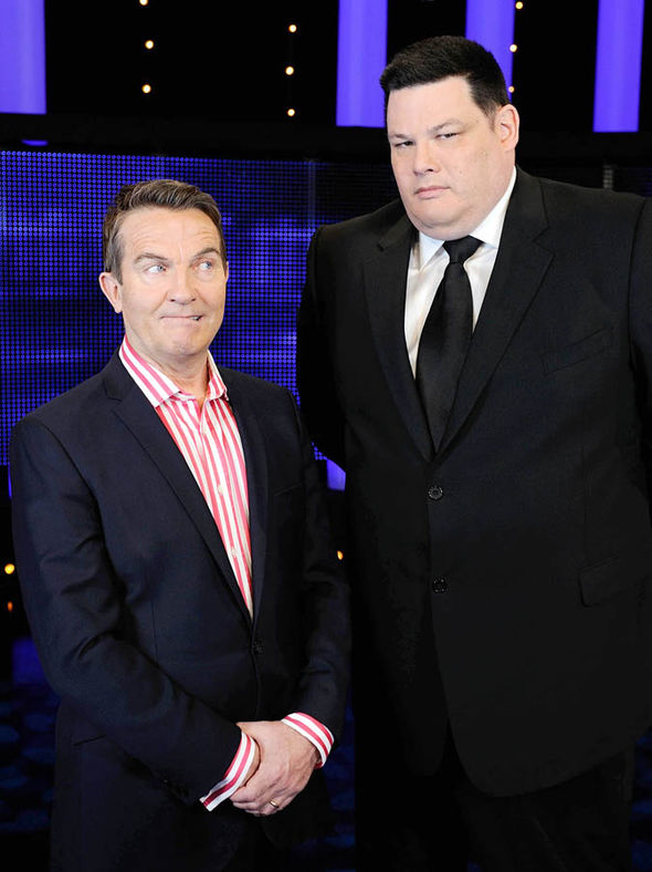 Mark Labbett and Bradley Walsh on The Chase