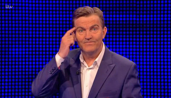 The Chase Bradley Walsh was bewildered by Callum's remarks