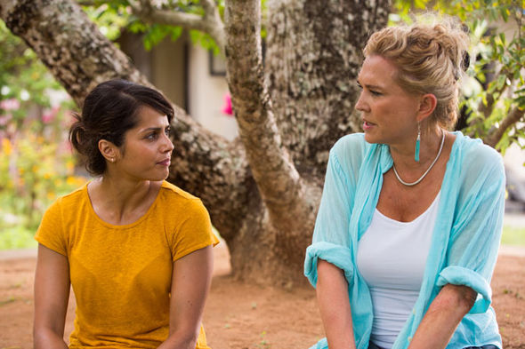 Amanda Redman and Amrita Acharia