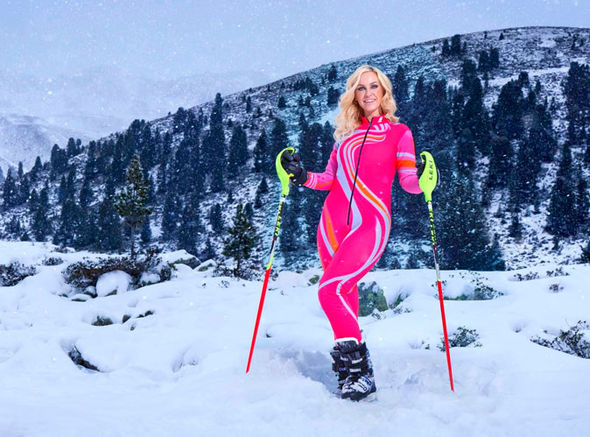 The Jump 2017 Josie Gibson lycra