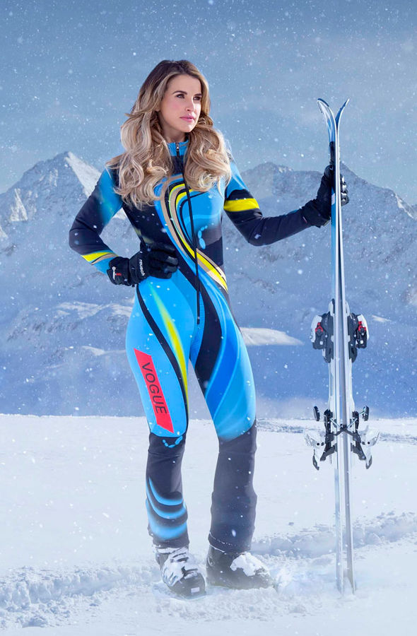 The Jump 2017 Vogue Williams model