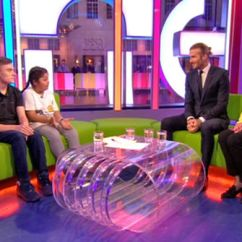Sofa Chase Sure Fit Reclining Cover The One Show Matt Baker And Alex Jones Replaced In ...