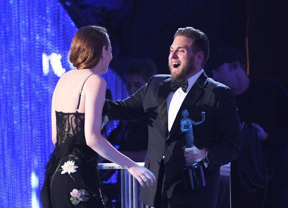 The pair were reunited at SAG Awards