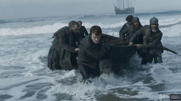 Theon Greyjoy is back on shores