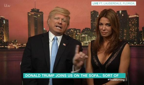 John Di Domenico as Donald Trump