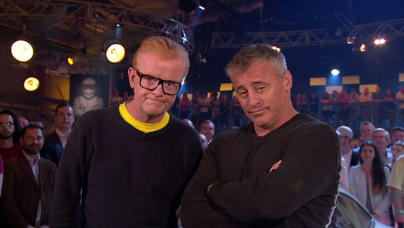 Top Gear Matt LeBlanc trailer naked ramblers