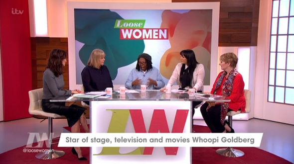 Whoopi Goldberg Loose Women