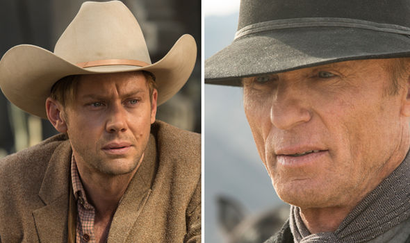 William and the Man in Black in Westworld