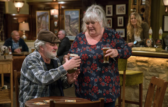 Zak Dingle and Lisa Dingle are back together