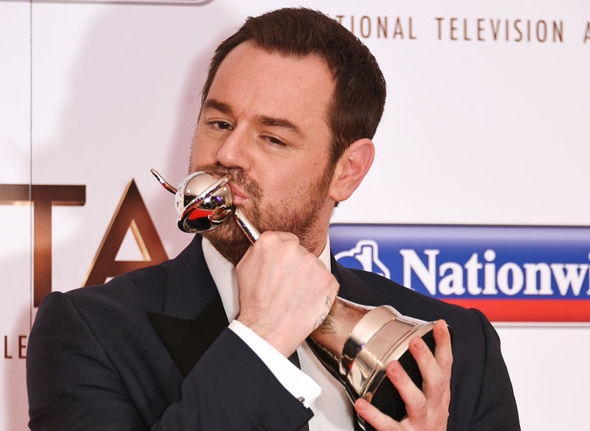 Danny Dyer at NTA Awards