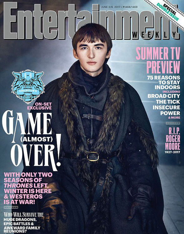 Isaac Hempstead Wright, who plays Bran Stark, also gets his own Entertainment Weekly cover